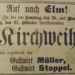 1919 Anzeige