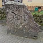 1200 Jahre Gedenkstein